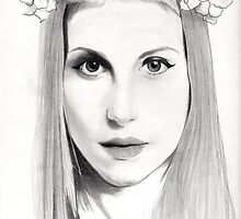Hayley Williams Portrait  by Nadia Camilleri
