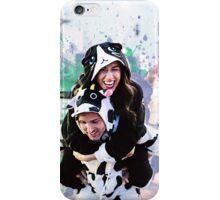 Colleen And Josh Splatter Onsie iPhone Case/Skin