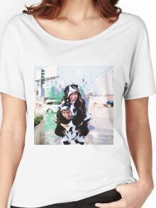 Colleen And Josh Splatter Onsie Women's Relaxed Fit T-Shirt
