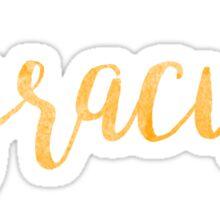 syracuse sticker cuse college university new york orange Sticker