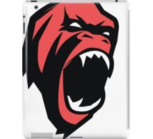 Deadly mean and mad Animal Monkey iPad Case/Skin