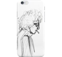 Ballad of a Sketched Man  iPhone Case/Skin