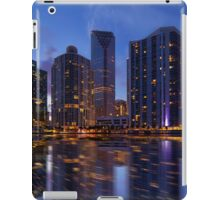 Miami Skyline at Twilight iPad Case/Skin