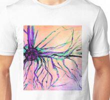 Tesla Coil acid rainbow Unisex T-Shirt