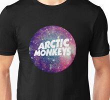 Arctic Monkeys - Logo Galaxy Unisex T-Shirt