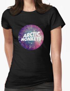 Arctic Monkeys - Logo Galaxy Womens Fitted T-Shirt