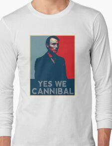 Yes We Cannibal - NBC Hannibal  Long Sleeve T-Shirt