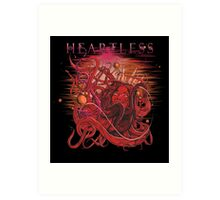 drowning heartless red Art Print