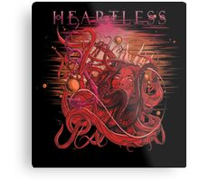drowning heartless red Metal Print
