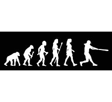 Womens Softball Evolution Photographic Print