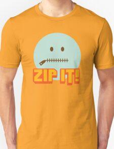 Zip It Unisex T-Shirt