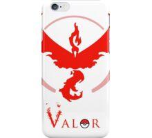 Pokemon Go - Valor Red iPhone Case/Skin