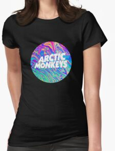 Arctic Monkeys - Logo Oil Womens Fitted T-Shirt