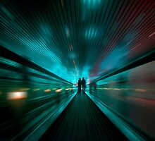 Tunnel Lights by DDMITR