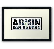 Armin Van Buuren Montage Framed Print