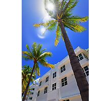 Miami South Beach  Photographic Print