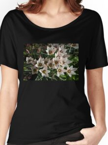 A Bunch of Miniature Tulips Celebrating the Spring Season Women's Relaxed Fit T-Shirt