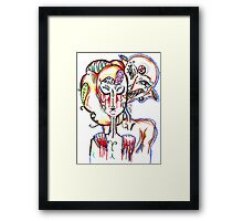 Venus in our blood Framed Print