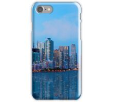 Miami Skyline at Twilight iPhone Case/Skin