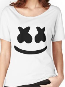 Marshmello Face Women's Relaxed Fit T-Shirt