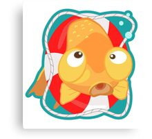 Cute Goldfish Canvas Print