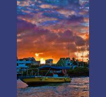 Ecuador. Galapagos Islands. Puerto Ayora. Sunset. Unisex T-Shirt