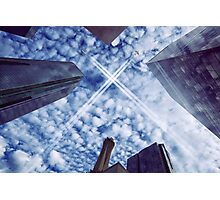Jets over City Photographic Print