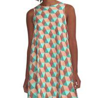 Retro Spring A-Line Dress