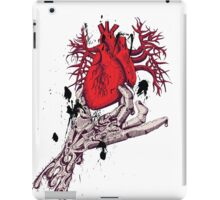 Hearth in Hand, Red and Naked hearth iPad Case/Skin