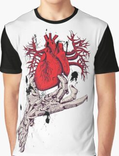 Hearth in Hand, Red and Naked hearth Graphic T-Shirt