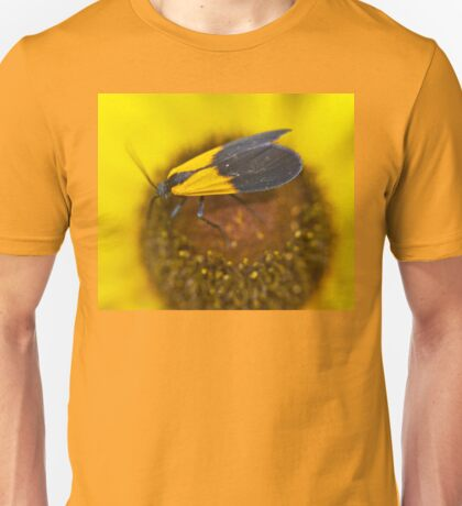 Lichen Moth - Lycomorpha pholus 70816 Unisex T-Shirt