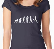 Womens Soccer Evolution Shirt Women's Fitted Scoop T-Shirt