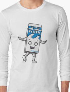 Milky Blur Long Sleeve T-Shirt