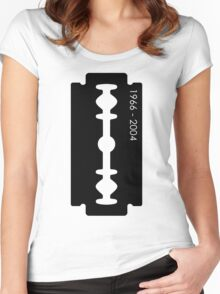 Dimebag Darrell Razor Necklace Graphic T-Shirt Women's Fitted Scoop T-Shirt