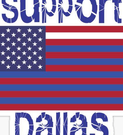 Support Dallas Sticker