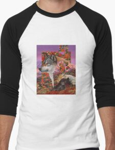 Alaska Dreaming Men's Baseball ¾ T-Shirt