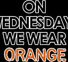 on wednesdays we wear orange by crystal0626