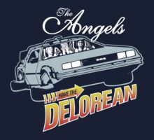 The Angels Have the Delorean One Piece - Long Sleeve