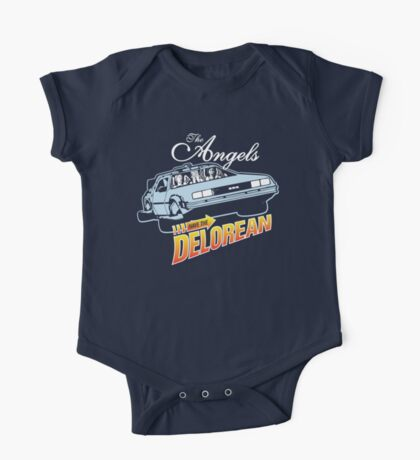 The Angels Have the Delorean One Piece - Short Sleeve