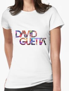 David Guetta Montage Womens Fitted T-Shirt