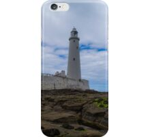 Whitley Bay St Mary's Lighthouse iPhone Case/Skin