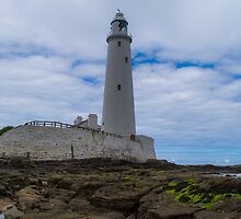 Whitley Bay St Mary's Lighthouse by Scott Lyons