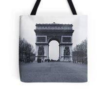 Arc de Triomphe - in 1945 Tote Bag