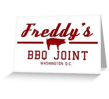 Freddy BBQ - House Of Cards Greeting Card