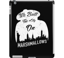 Marshmallow City  iPad Case/Skin