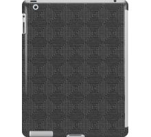 Darlk Gray Texture iPad Case/Skin