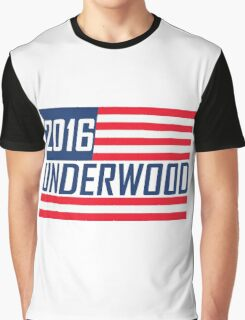 Frank Underwood 2016 - House Of Cards Graphic T-Shirt