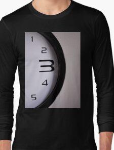 Clock numbers 1 2 3 4 5 Long Sleeve T-Shirt