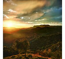 Hollywood Sunset Photographic Print
