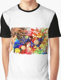 Dreaming in the garden Graphic T-Shirt